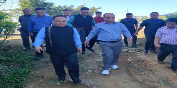 NWC member Soso Shaiza calls on Mizoram CM