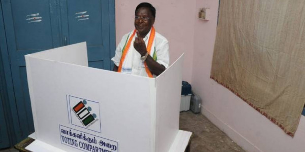 Puducherry govt needs Centre's nod for budget proposals: V Narayanasamy