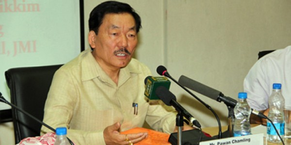 Chamling in Committee of CMs Implementing Measures for Cashless Economy