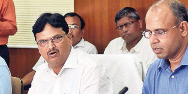 Odisha Finance Minister Niranjan Pujari presents Special Supplementary Budget