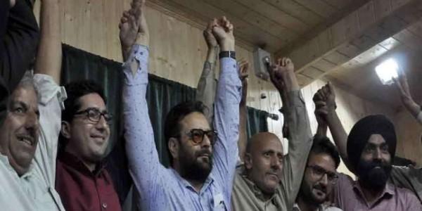 फैसल-इंजीनियर के मिलने से कश्मीर में नए राजनीतिक संगठन पीपुल्स फ्रंट ने लिया जन्म