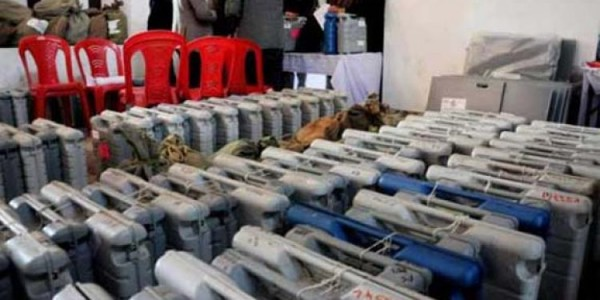 manipur-sealed-evms-from-265-polling-stations-stored-in-thoubals-strong-room