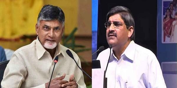 Clashes between CM Chandrababu Naidu and AP new Chief secretary(CS)