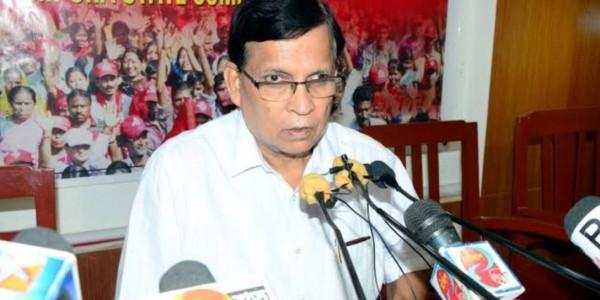 Former Tripura Minister Badal Chowdhury Arrested