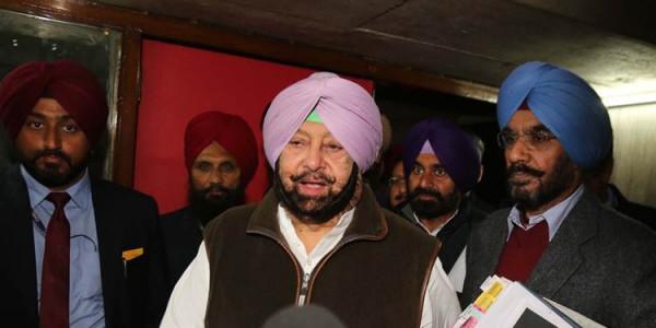 CM Amarinder Singh asks sarpanches to make their villages drug-free