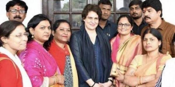 महिला मतदाताओं पर नजर, प्रियंका गांधी ने 'न्याय' पर जताई खुशी