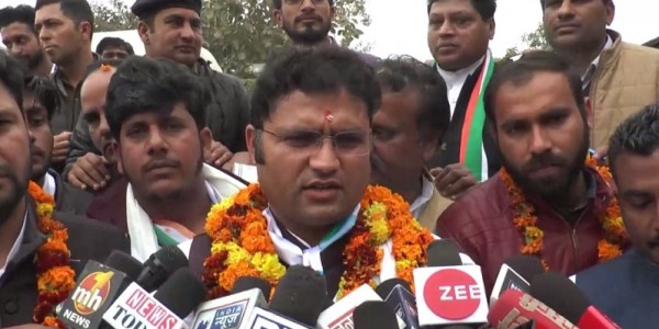 ashok tanwar attacks on bjp