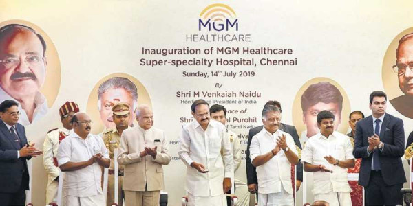 Tamil Nadu is the medical tourism hub of India: Vice-President M Venkaiah Naidu