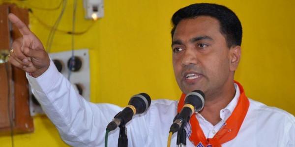 गोवा के मुख्यमंत्री ने फुटबाल मामलों पर प्रधानमंत्री कार्यालय को पत्र लिखा