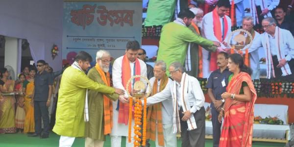 Biplab Deb inaugurates 14 Gods festival in Tripura