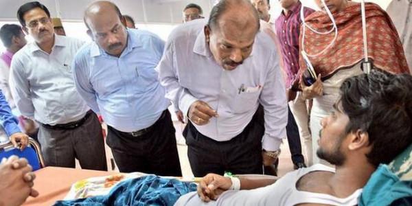SHRC team visits violence-hit areas, meets victims