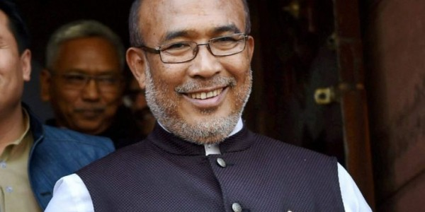 EC issues notice to Manipur CM again over poll code violation