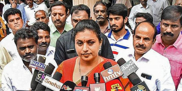Chandrababu Naidu campaign against government, will boomerang: Nagari MLA RK Roja