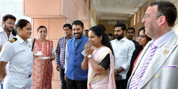 Kavitha roots for women in politics