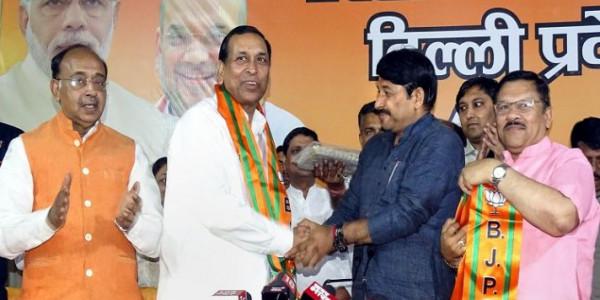 Denied LS Ticket, Senior Delhi Congress Leader Rajkumar Chauhan Switches Sides To BJP