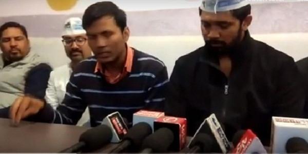 मंत्री की पिटाई का फेक वीडियो मामलाः 'आप' का बीजेपी पर वार, कहा- भाजपा ने ही बनवाया है वीडियो, नहीं हो रही है जांच