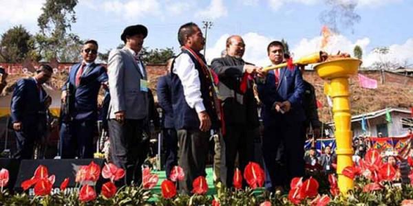 Manipur CM inaugurates Barak Festival at Senapati