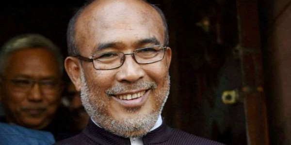 Manipur CM launches scheme to improve infrastructure in government schools
