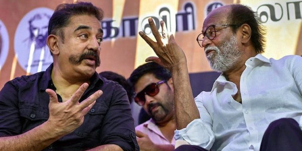 'They share a common goal': Kamal Haasan on alliance with Rajinikanth