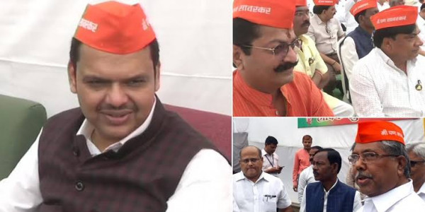 BJP Legislators Wear 'I am Savarkar' Cap to Protest Against Rahul Gandhi's Remark