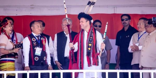 Rahul spits fire at Modi in Dimapur poll meet