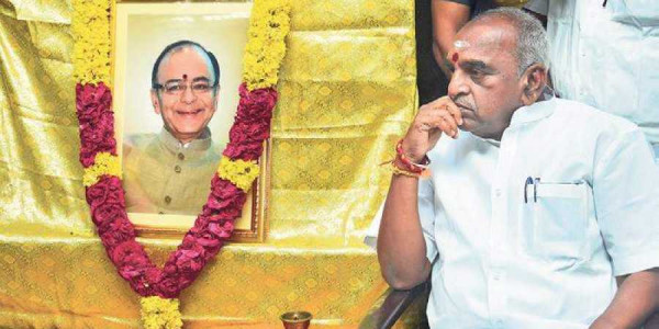 Tamil Nadu leaders recollect Arun Jaitley's political life