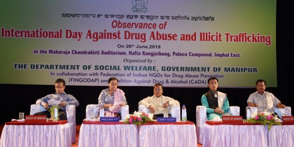 Manipur vows to fight drugs menace and illicit traficking