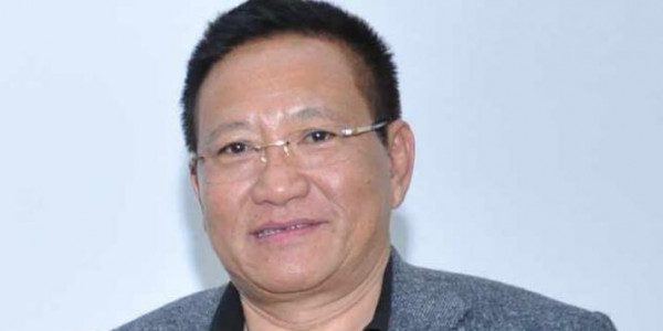TR Zeliang extends Ahuna greetings