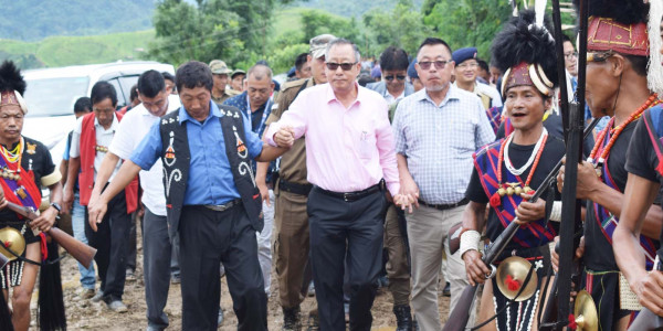 NEC releases Rs. 75.44 crore for upgrading Longleng- Tuensang road