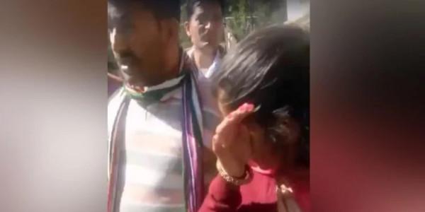 पच्छाद उपचुनाव: भाजपा कार्यकर्ताओं द्वारा महिला को धमकाने का वीडियो हुआ वायरल