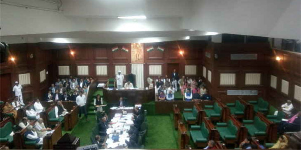 chhattisgarh-4th-assembly-session-1st-day-work-started-without-opposition
