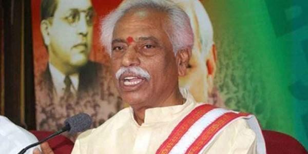 Hyderabad is safe haven for Islamic terrorist activities, says BJP's Bandaru Dattatreya