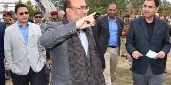 Manipur Chief Minister oversees preparations for Modi's visit