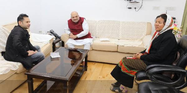 Citizenship Act: Amit Shah meets Tripura leaders as protests continue; 'no retreat', responds one