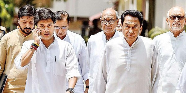 Madhya Pradesh Poll Results Exposes New Crisis: Congress Vs Congress