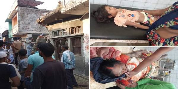 यूपीः सिलिंडर फटने से ध्वस्त हुए तीन मकान, 12 की मौत, सीएम योगी ने गहरा शोक व्यक्त किया