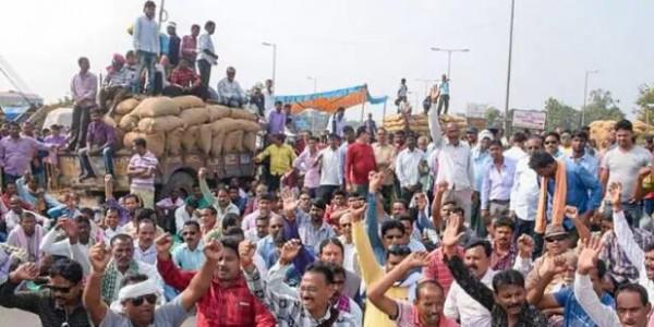 उत्तर प्रदेश: किसानों ने किया विधानसभा का घेराव