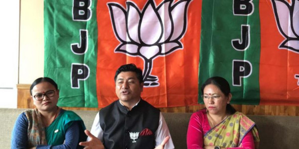 BJP-SKM alliance will win all 3 seats in bypolls:  Sikkim BJP chief