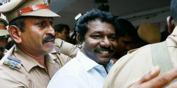 AIADMK MLA Karunas gets bail in case related to making dereogatory remarks against CM Palaniswami