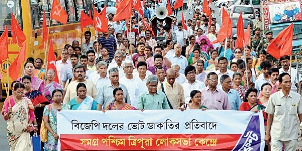 5 poll officials in Tripura suspended