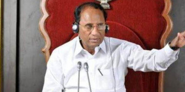 Andhra Pradesh says ex-Speaker stole govt items, thieves strike his office