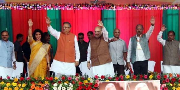 कांग्रेस को केवल सपने देखने का शौक, भाजपा को उसे पूरा करने का: शाह