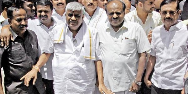 Coalition parties display unity in Mandya