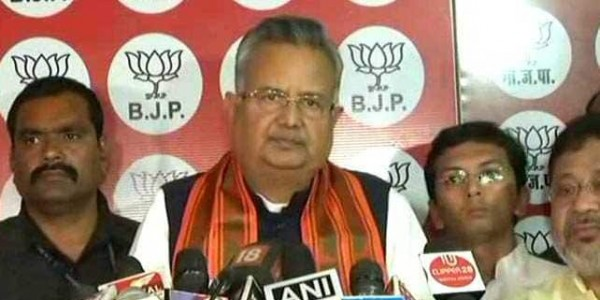"""""""Syndicate Raj Being Operated In Bengal"""": Ex-Chhattisgarh Chief Minister"""