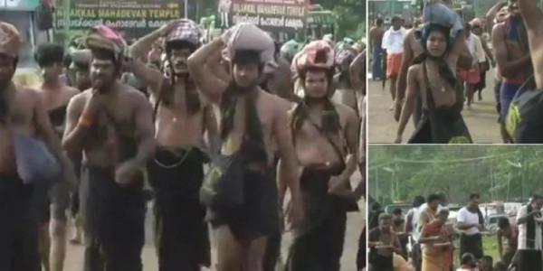 आज सबके लिए खुलेंगे सबरीमाला मंदिर के कपाट, महिलाओं के विरोध से तनाव का माहौल