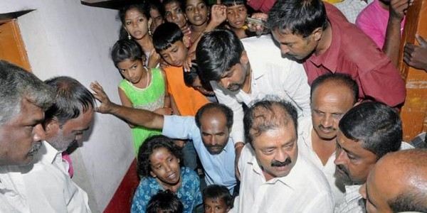 MLA distributes compensation to family of deceased farmer
