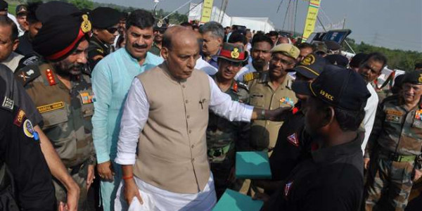 सुलझने वाला है कश्मीर मसला : राजनाथ