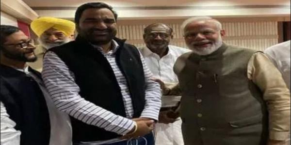हनुमान बेनीवाल ने PM नरेंद्र मोदी के साथ की गुफ्तगू , प्रदेश को दिया ये संदेश!