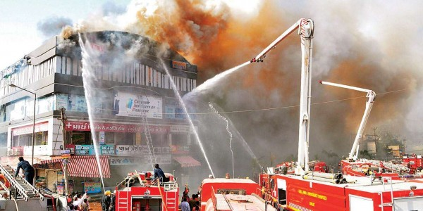 After Surat tragedy, 9,395 buildings get Gujarat govt notice for fire safety