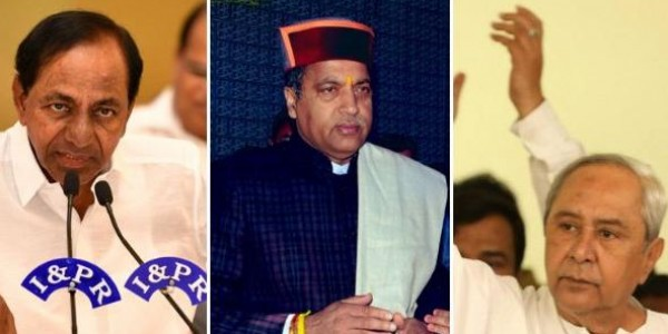 Voters most happy with Telangana, Himachal Pradesh, Odisha CMs: IANS-CVOTER Tracker poll